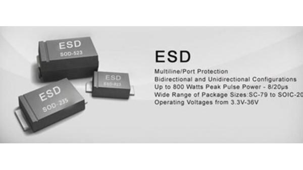 ESD靜電二極管選型指南